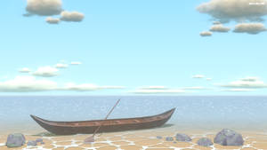 Blender3D seaside