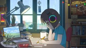LOFI STUDY GIRL