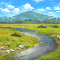 NVIDIA Canvas Landscape