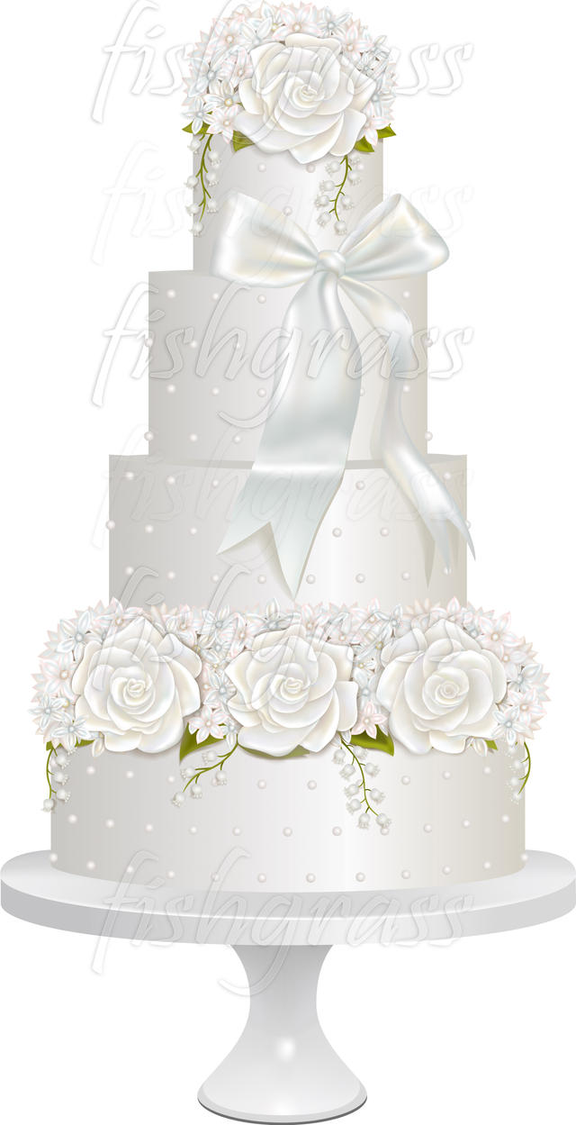 wedding cake vector wedding cake in vector by kamiworkshop on deviantart 26758