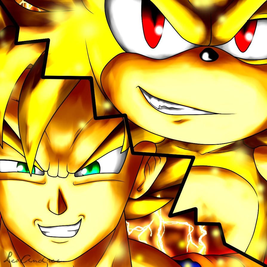 SONIC and GOKU by LoborianProductions on DeviantArt