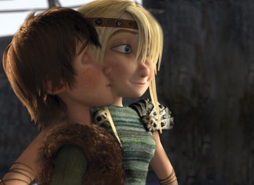 Hiccup kisses astrid by lilgerndt on deviantart hiccup kisses astrid by lilgerndt ccuart Image collections