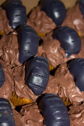 Muddy Tire Cupcakes by Bri-Creative