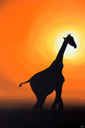 African Sunset by Bri-Creative