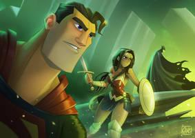 Justice League by AlessandroAlmeida