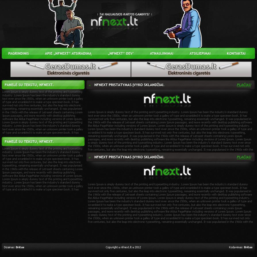 HTML dizainas by deivido
