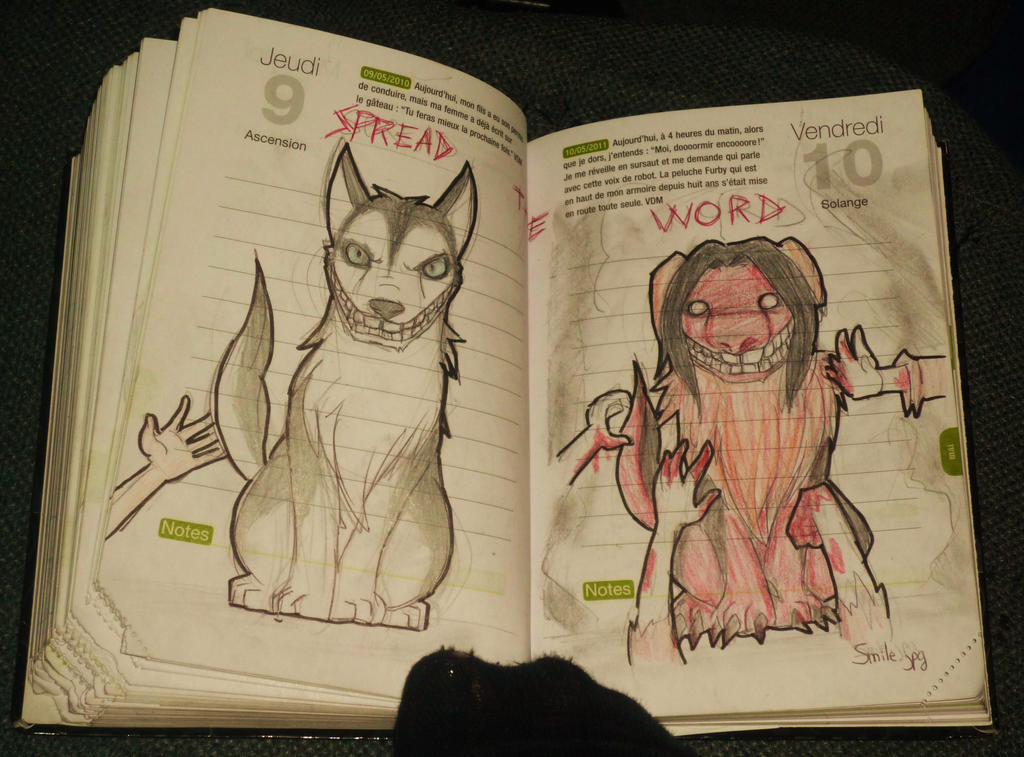 Smile dog story creepypasta smile dog in my diary by mary