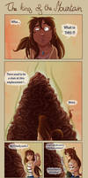 (Strip!) The King of the Mountain by Mary-Hurricane