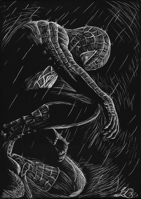 how-to-draw-black-spiderman