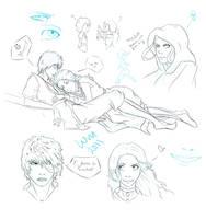 ZK Sketchdump by watermistress