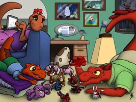 Federation Family 2... by LazyRayFinkle