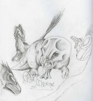 Velociraptor Hunting