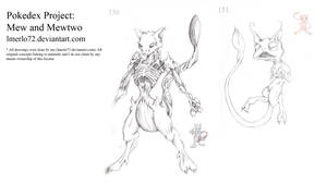 Pokedex Project: Mew and Mewtwo