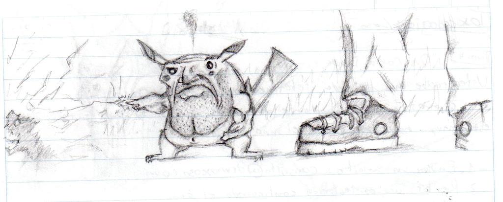 Pikachu Prototype by lmerlo72