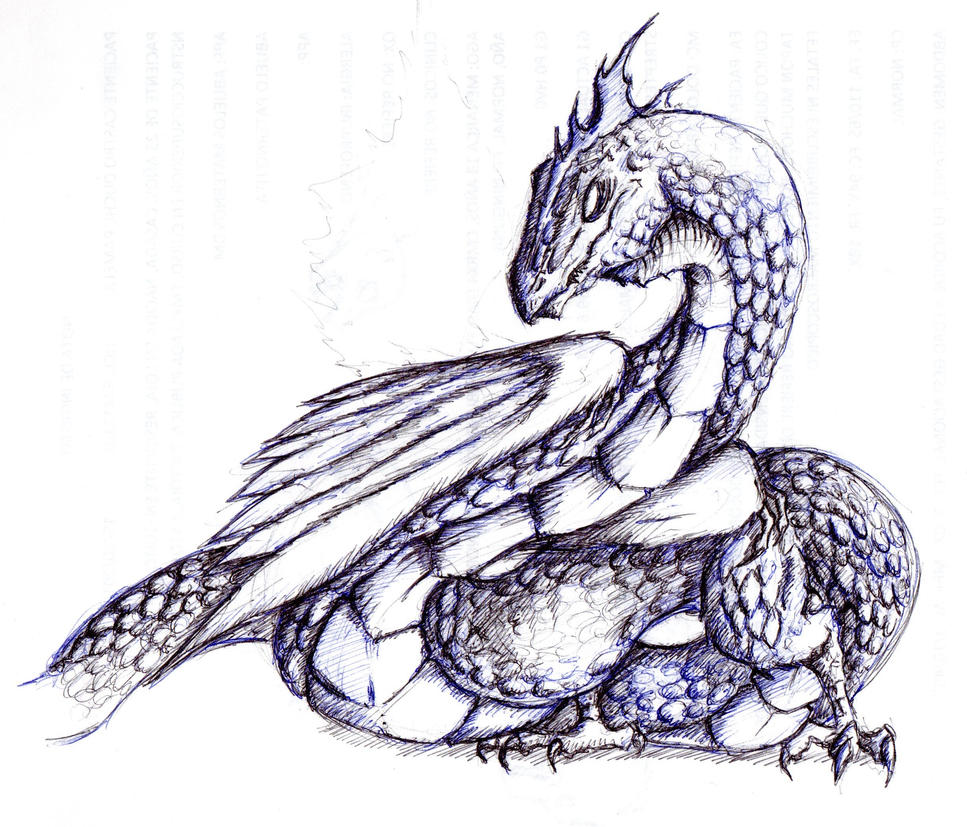 Hospital Sketches: Basilisk by lmerlo72 on DeviantArt