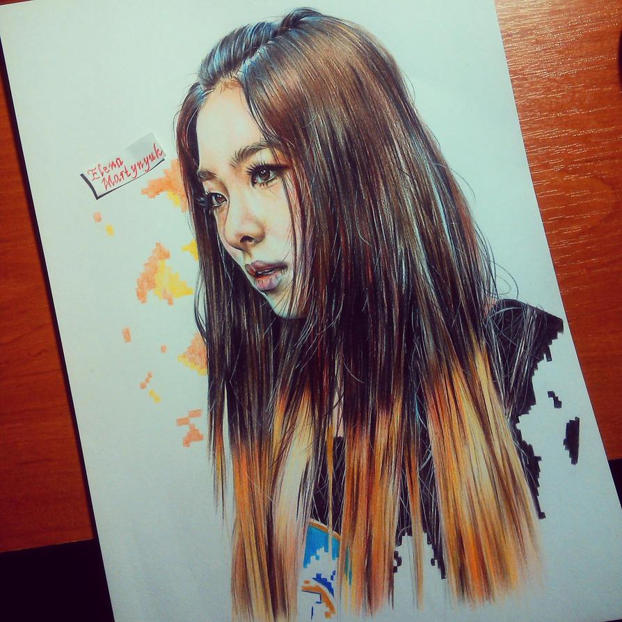 Seulgi / Red Velvet by ElenaMartynyuk