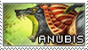 Smite Stamps: Anubis by mothquake