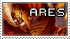 Smite Stamps: Ares by mothquake