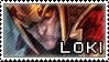 Smite Stamps: Loki by mothquake
