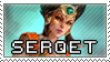 Smite Stamps: Serqet by mothquake