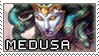 Smite Stamps: Medusa by mothquake