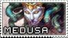 Smite Stamps: Medusa by mothquake