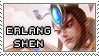Smite Stamps: Erlang Shen by mothquake