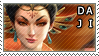 Smite Stamps: Da Ji by mothquake