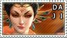 Smite Stamps: Da Ji by mothquake