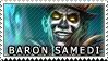 Smite Stamps: Baron Samedi by mothquake