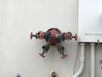 Multi-valve water fitting