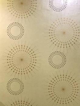 Circular wallpaper