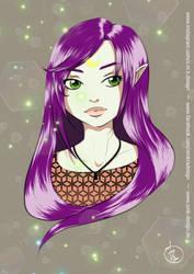 Lunalys OC (colored Version) by SMK-Design
