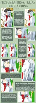 PShop Tips - Color Hair by sethron