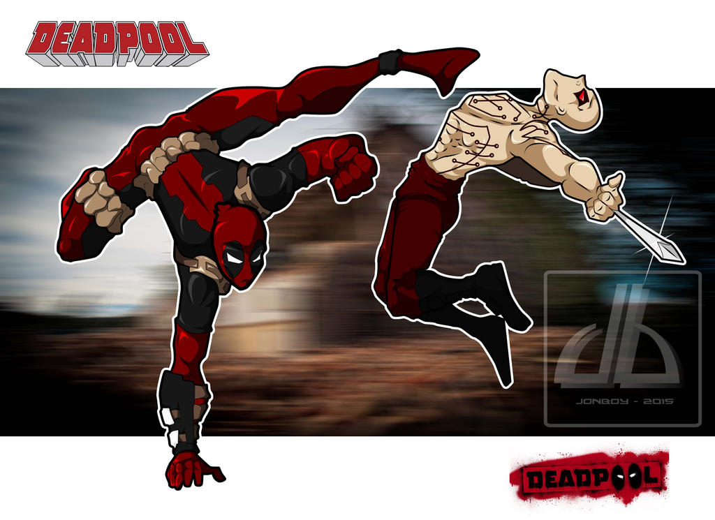 Deadpool VS The Deadpool by foulmouth