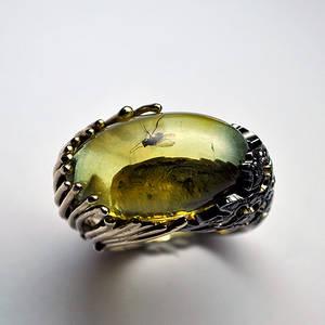 Amber ring 3