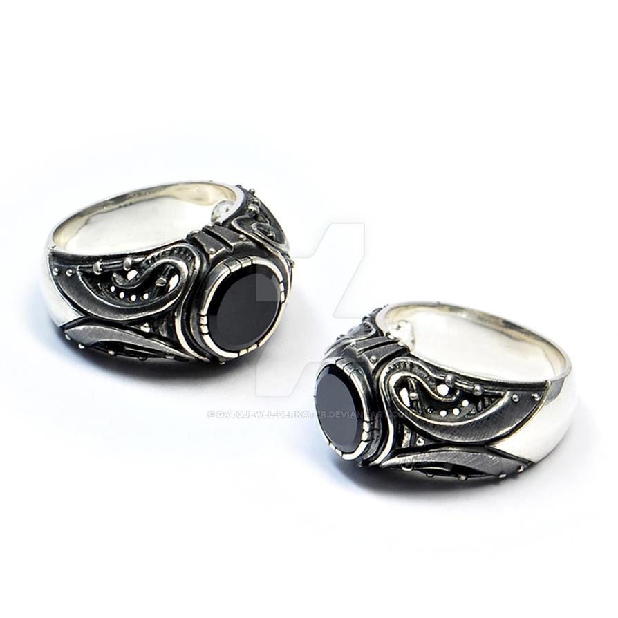 Divitarium silver ring by GatoJewel-DerKater