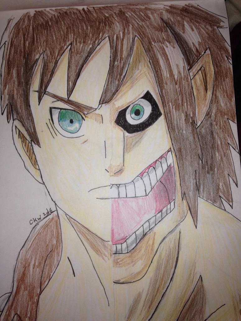 Shingeki no Kyojin (colored) by Africa2000
