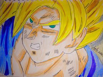 Super Saiyan Goku by Africa2000