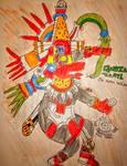 Quetzalcoatl  by Africa2000