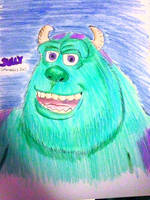 Sully- Monsters Inc by Africa2000