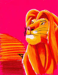 Simba, King of Africa  by Africa2000