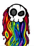 A Skull and the Rainbow