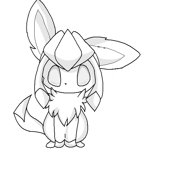 sylveon coloring pages coloring pages
