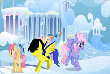 just a normal day in cloudsdale