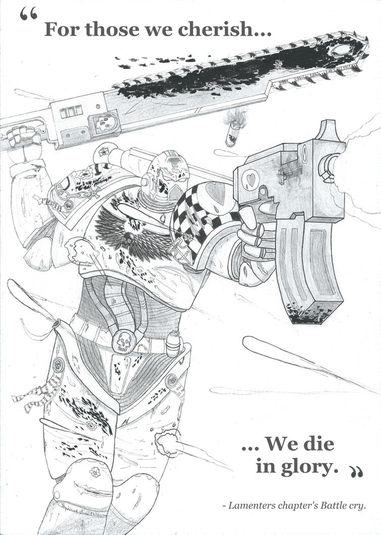 Warhammer 40k : It is our duty. by Saphirone-Arnes