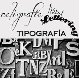 Caligrafia tipografia lettering