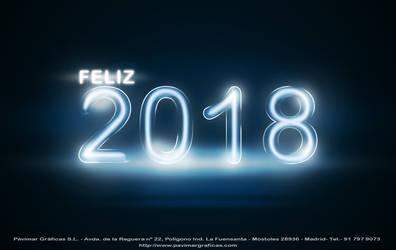 Feliz 2018 Pavimar Graficas