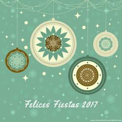 Merry Xmas Felices Fiestas 2017