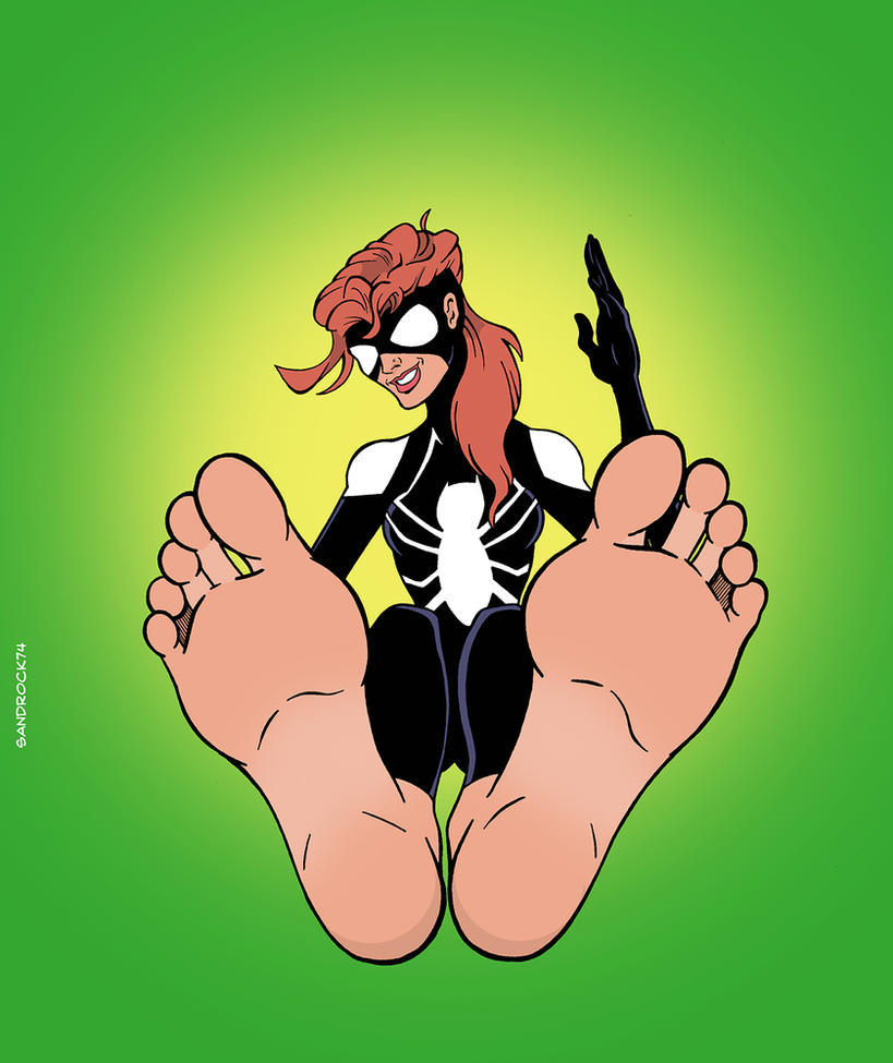 Bootless Spider-Girl by sandrock74